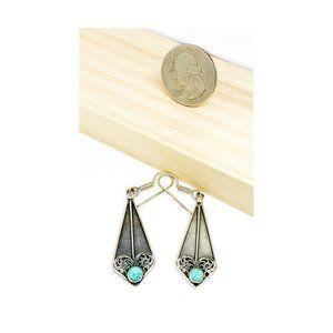 Silver & Turquoise earrings
